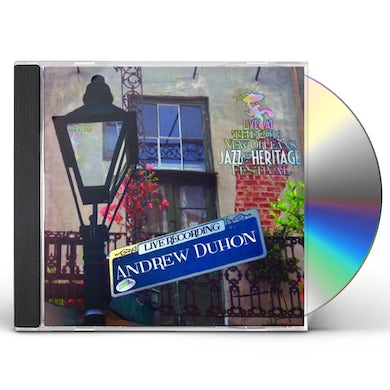 Andrew Duhon LIVE AT JAZZFEST 2013 CD