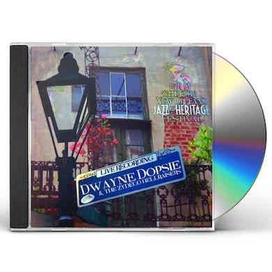 Dwayne Dopsie LIVE AT JAZZFEST 2013 CD