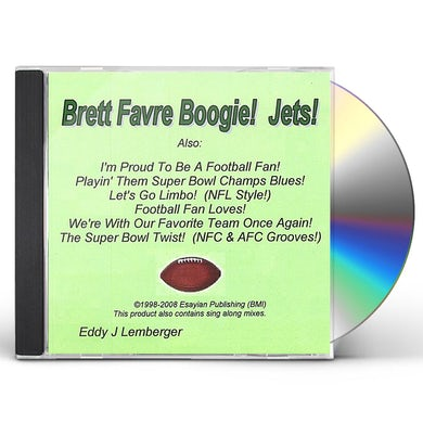 Eddy J Lemberger BRETT FAVRE BOOGIE JETS CD