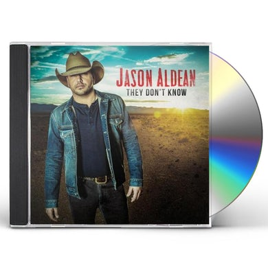 Jason Aldean THEY DON'T KNOW CD