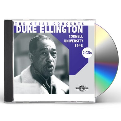 Duke Ellington GREAT CONCERTS: CORNELL UNIVERSITY 1948 CD