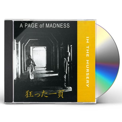 In The Nursery PAGE OF MADNESS CD