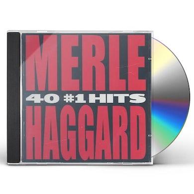 Merle Haggard  40 #1 HITS CD