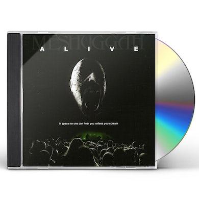MESHUGGAH ALIVE CD