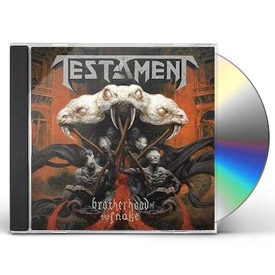 Testament BROTHERHOOD OF THE SNAKE CD