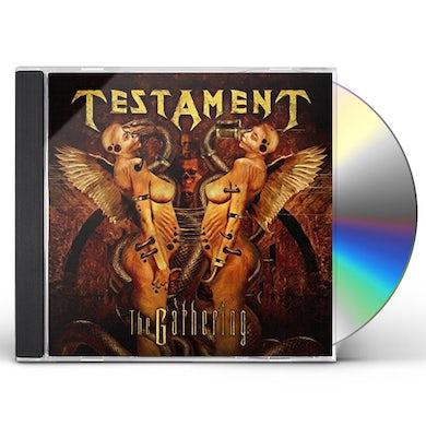 Testament GATHERING (REMASTERED) CD