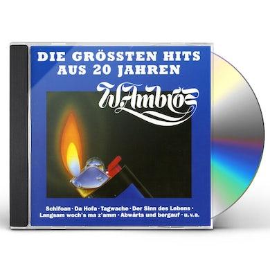 Wolfgang Ambros DIE GROSSTEN HITS AUS 20 JAHREN CD