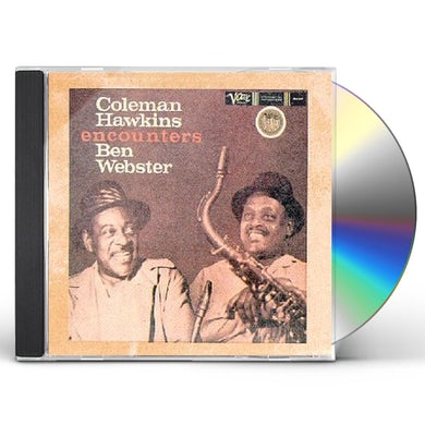 Coleman Hawkins / Ben Webster COLEMAN HAWKINS ENCOUNTERS BEN WEBSTER CD