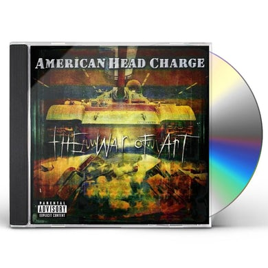 American Head Charge WAR OF ART CD