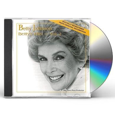 Betty Johnson BETTY'S HITS - VOLUME 2 CD
