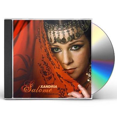 Xandria SALOME: SEVENTH VEIL CD