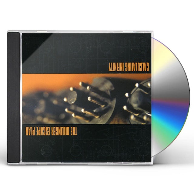 Dillinger Escape Plan CALCULATING INFINITY CD