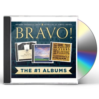 Mormon Tabernacle Choir BRAVO: THE #1 ALBUMS CD