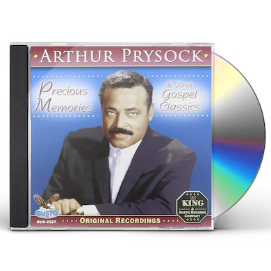 Arthur Prysock PRECIOUS MEMORIES & OTHER GOSPEL CLASSICS CD
