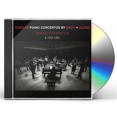 Simone Dinnerstein Circles: Piano Concertos By Glass & Bach CD