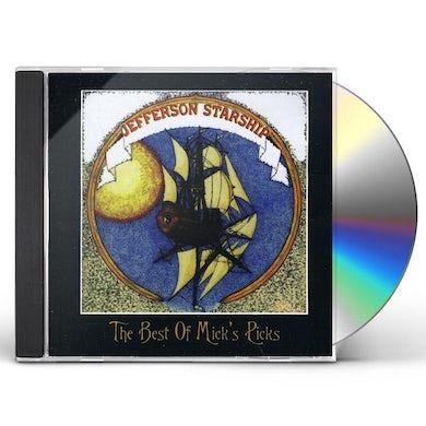 Jefferson Starship BEST OF MICKS PICKS CD