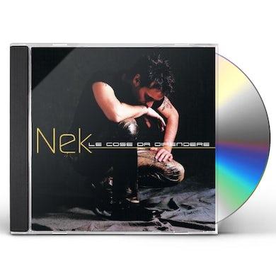 Nek COSE DA DIFENDERE (ITALIAN VERSION) CD