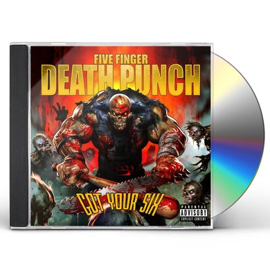 Five Finger Death Punch GOT YOUR SIX CD