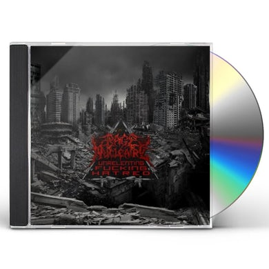 Rage Nucleaire UNRELENTING FUCKING HATRED CD