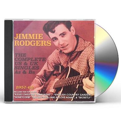 Jimmie Rodgers COMPLETE US & UK SINGLES AS & BS 1957-62 CD