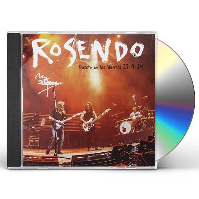 Rosendo DIRECTO EN LAS VENTAS CD