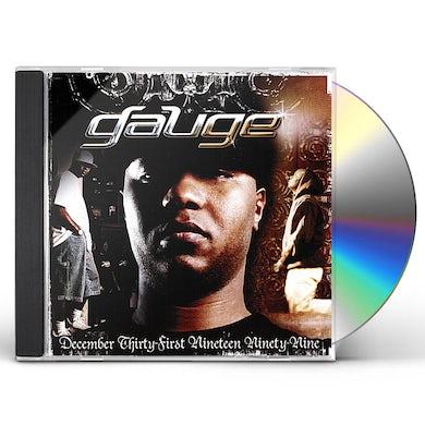 Gauge DECEMBER THIRTY-FIRST NINETEEN NINETY-NINE CD