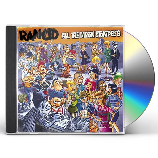 Rancid ALL THE MOONSTOMPERS CD