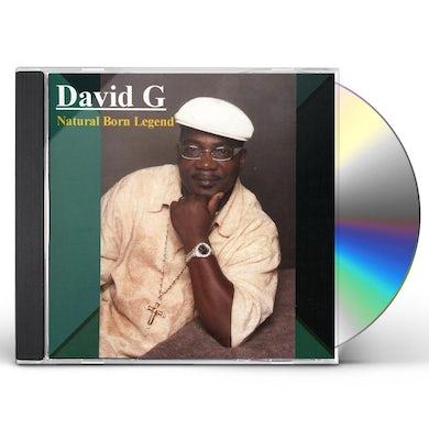 David G NATURAL BORN LEGEND CD