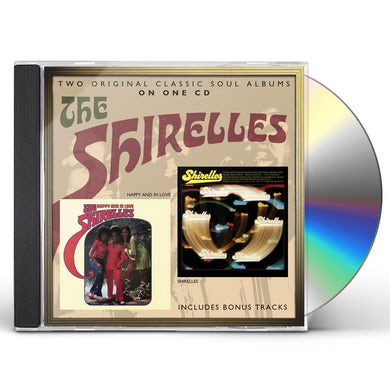 HAPPY & IN LOVE / The Shirelles CD