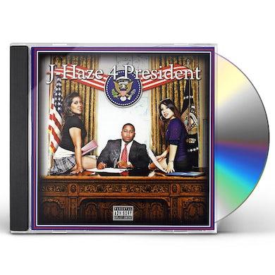 J-Haze 4 PRESIDENT CD
