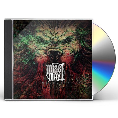 Miss May I MONUMENT CD
