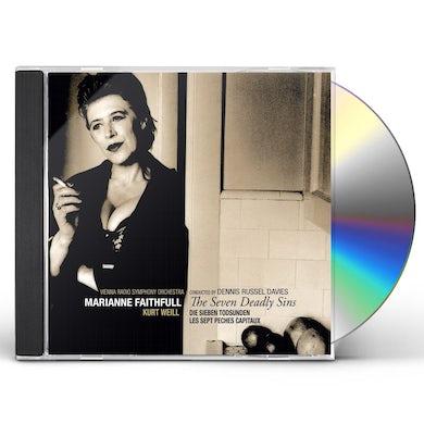 Marianne Faithfull SEVEN DEADLY SINS CD