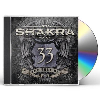 33 BEST OF SHAKRA CD