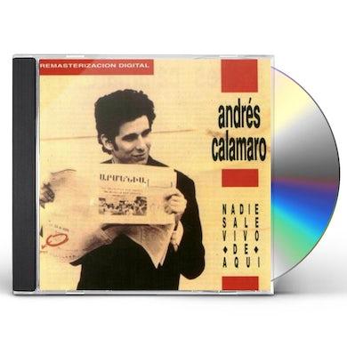 Andres Calamaro NADIE SALE VIVO DE AQUI CD