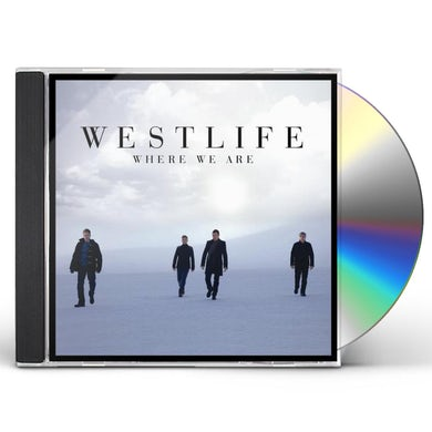Westlife WHERE WE ARE CD