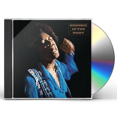 Jimi Hendrix HENDRIX IN THE WEST CD