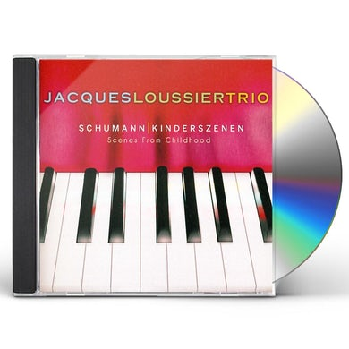 Jacques Loussier SCHUMANN: KINDERSZENEN (SCENES FROM CHILDHOOD) CD