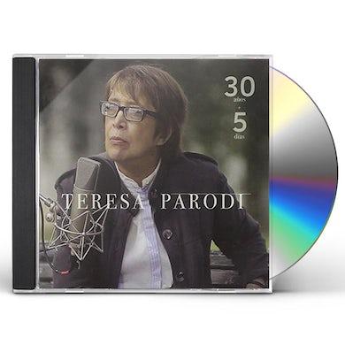 Teresa Parodi 30 ANOS + 5 DIAS CD