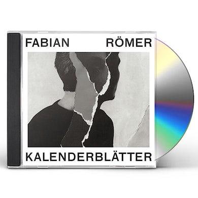 Fabian Romer KALENDERBLATTER CD
