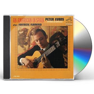 Peter Evans AN AMERICAN IN SPAIN CD