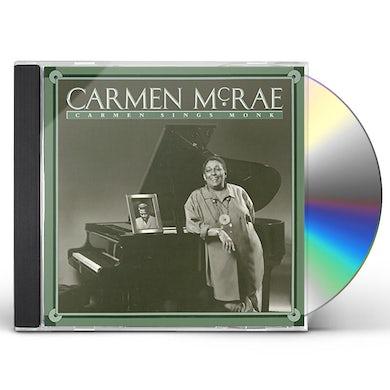 Carmen McRae CARMEN SINGS MONK CD