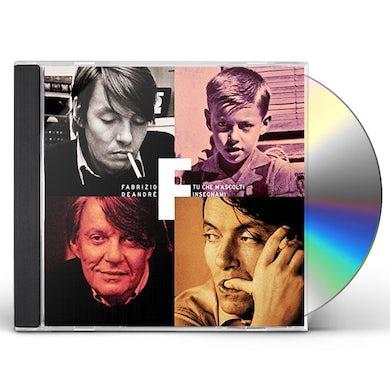 Fabrizio De Andre TU CHE M'ASCOLTI INSEGNAMI CD
