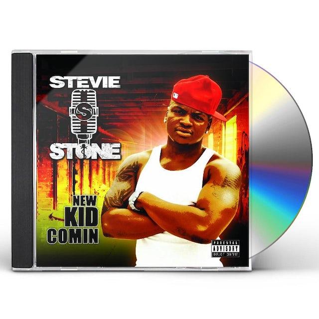 Stevie Stone NEW KID COMING CD
