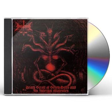 Hellvetron DEATH SCROLL OF SEVEN HELLS & IT'S INFERNAL CD