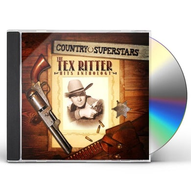 COUNTRY SUPERSTARS: TEX RITTER HITS CD