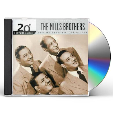 Mills Brothers 20TH CENTURY MASTERS CD