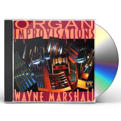 Wayne Marshall ORGAN IMPROVISATIONS CD