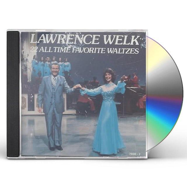 Lawrence Welk 22 ALL TIME FAVORITE WALTZES CD