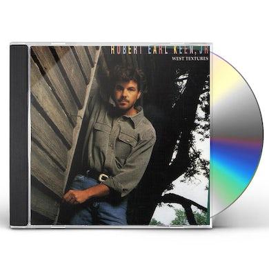 Robert Earl Keen WEST TEXTURES CD