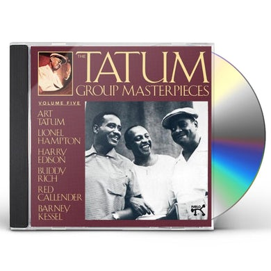 Art Tatum GROUP MASTERPIECES 5 CD